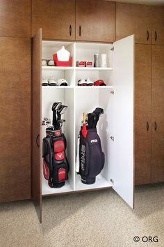 Every golfer's dream closet