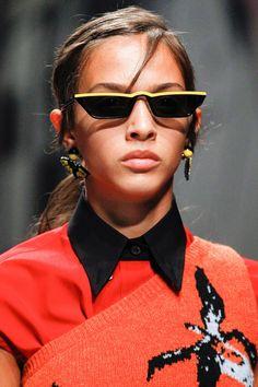 57b2003fb6d3 Prada Spring 2018 Ready-to-Wear Collection Photos - Vogue Prada Sunglasses