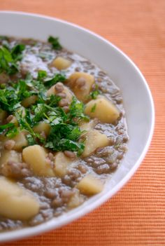 German Lentil Soup | germanfood | german recipes