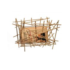 Magazine holder in wood bamboo, available just a click away on The Loft Asia a luxorious lifestlye & furniture store at www.theloftasia.com