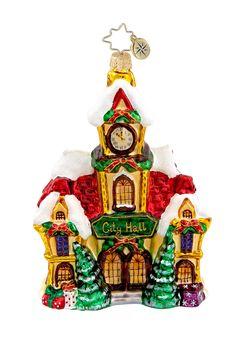 Christopher Radko  Christopher Radko City Hall Ornament  $ 44.00