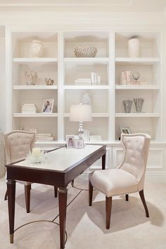 Transitional Home Office by Boca Raton Photographers ibi designs