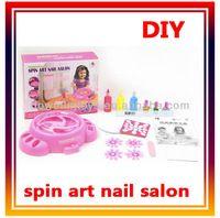 Newest child toy, DIY art nail machine sets plastic toys.