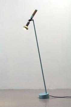 """Grip"" Floor Light by Achille Castiglioni"