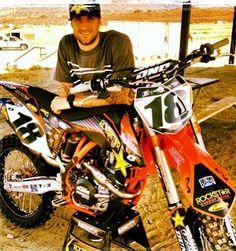 Davi Millsaps and his new ride!