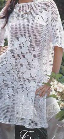 Crochet Tops, Knitting, Macrame, Handmade, Clothes, Design, Decor, Fashion, Crochet Dresses