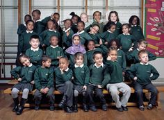 Nightingale Primary School, from the series 'Here Is London' by Mark Neville, 2012