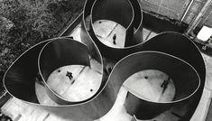 dewtiful world - cycle by Richard Serra