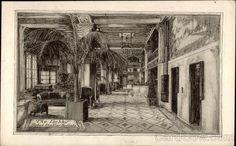 The Lobby, Hotel Statler, Buffalo New York