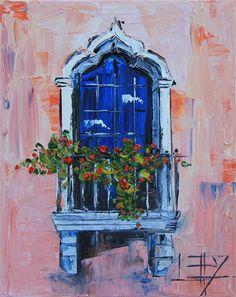 Buy Original Art by Lisa Elley | oil painting | Arabian Nights at UGallery