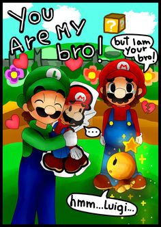 Mario and Luigi Paper Jam:YOU ARE MY BRO!!Spoiler! by MagicalDayDreamer