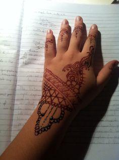 My henné