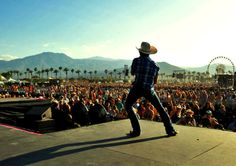 Justin Moore at stagecoach! I'm in that crowd somewhere!