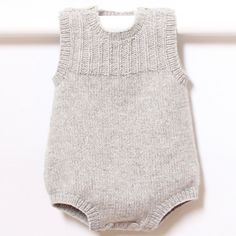 41 / Baby Romper / Knitting Pattern Instructions in English