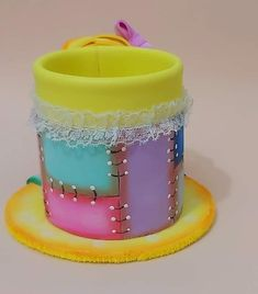 Make Your Own, Make It Yourself, Art Dolls, Diy And Crafts, Birthday Cake, Textiles, Fabric, Handmade, Range