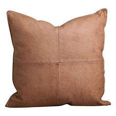 Bring natural warmth and raw beauty to your interiors with the Leather Luxe Cushion from Sea Tribe. Raw Beauty, Cushions, Throw Pillows, Sea, Leather, Style, Swag, Toss Pillows, Toss Pillows