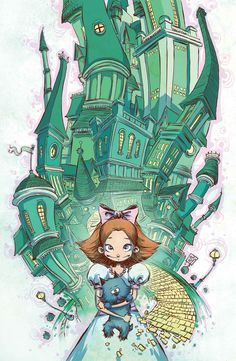 skottie young | Return to THE EMERALD CITY OF OZ with Eric Shanower & Skottie Young