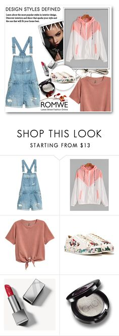 """""""romwe"""" by maryam-nu ❤ liked on Polyvore featuring H&M, Nasty Gal and Burberry"""