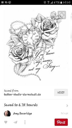 Love this i shall be getting this on my inner thigh to clover a scar can't wait
