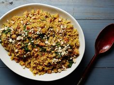 Fonio Pilaf with Dates, Carrots, and Peanuts Recipe | SAVEUR