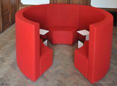 Espace réunion pour open space Round Meeting Point - Epoxia mobilier