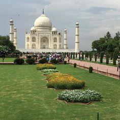 #mytajmemory #tajmahal #iloveindia by marsha_russell #IncredibleIndia #tajmahal