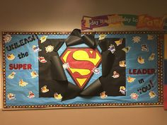 Superhero Bulletin Board / Leader In Me