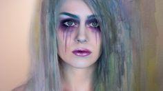 Emma Pickles: Watercolour Painting Makeup (Collaboration with Lena Danya) Lena Danya, Face Awards, Costume Makeup, Skin Makeup, Watercolour Painting, Diy Beauty, Makeup Looks, Halloween Face Makeup, Make Up