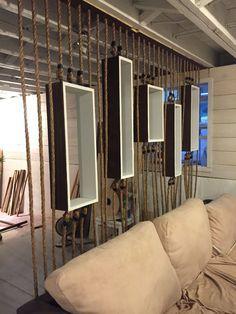 PROJECT: DIY Rope Wall Separator – Longfellow Living More