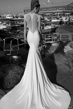 Galia Lahav spring 2015 #bridal collection: Dolce #wedding dress with cap sleeves #weddingdress #weddinggown