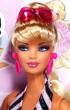 Then and Now® Bathing Suit Barbie® - Made in China