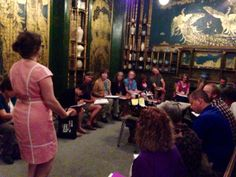 Day 2 - Exploring music in the Peacock Room at the Freer with Theresa Esterlund!