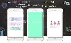 Wouldn't it be nice to change up your iPhone wallpaper every day of the week? Well, now you can! We've put together your favorite quotes and created some bright and colorful girly backgrounds for all you lovely Pinterest followers out there. Follow us on Pinterest You can find all mobile wallpapers on our Pinterest. To … Continue reading 7 Super Cute iPhone Wallpapers for Every Day of the Week