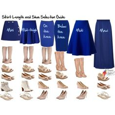 Your Essential Skirt Length and Shoe Selection Guide - Inside Out Style I used to wear these with pencil skirts every day student teaching. Mode Outfits, Fashion Outfits, Womens Fashion, Fashion Tips, Fashion Trends, Modest Fashion, Modest Clothing, Fashion Ideas, Dress Fashion
