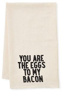 """Eggs & Bacon"" Tea Towel"