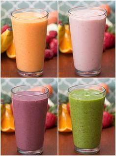 4 Make-Ahead Veggie-Packed Fruit Smoothies