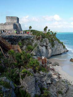 Temple, Tulum, Riviera Maya, Mexico