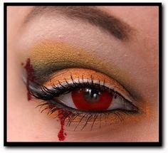 Sweet Cupcake: Halloween - Maquiagens