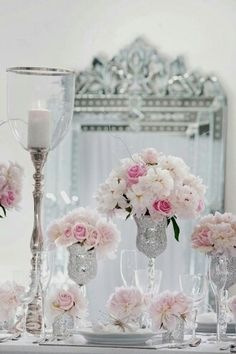 Sparkle + Silver + And Soft Pinks