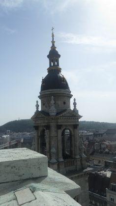 Vue de Budapest de la basilique