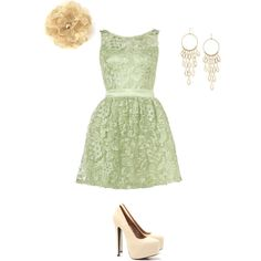 Vintage Evening, created by joannamckinney123 on Polyvore