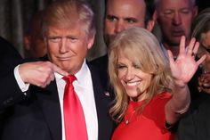 "On Tuesday, a presidential glass ceiling was broken — when Kellyanne Conway earned the distinction of being the first woman in history to run a winning campaign for the White House. ""It feels good,…"