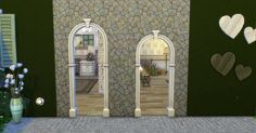 Mod The Sims - Praire Post and Arch with Keystone
