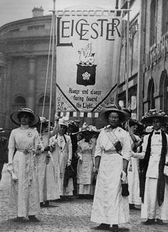 Leicester Suffragettes