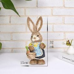 "Jano Rabbit Pink 3 1//2/"" H Aarikka Easter Rabbit is made of maple in Finland."