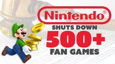 Nintendo DMCAs 562 Fan Games - The Know Game News