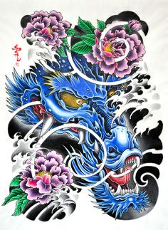 Dragon #sakura_tattoo_amsterdam