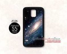 galaxy nebula for Samsung S5 Black case