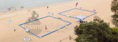 Beach soccer inflatable