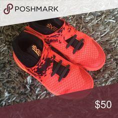 Selling this Nike Kyrie Irving boys sneakers. Size 13 on Poshmark! My username is: sohokids. #shopmycloset #poshmark #fashion #shopping #style #forsale #Nike Kyrie 2 #Other